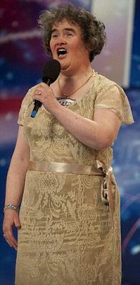 Susan Boyle as She Was